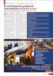 F&ST Article on emergency Management